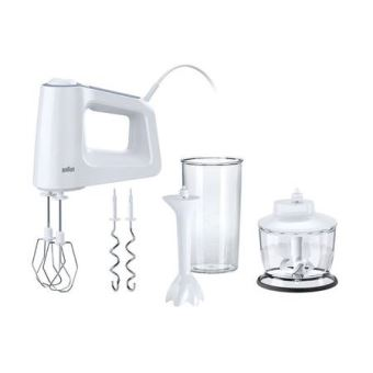 BRAUN HAND HELD MIXERS HM3135 WHITE