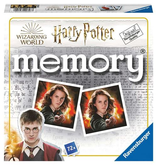 Jeu de mémoire Ravensburger Harry Potter Memory