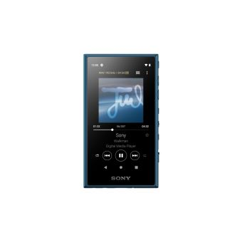 Lecteur Audio High-Resolution Android Sony NWA105 16 Go Bleu