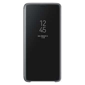 SAMSUNG S9+ CLEAR VIEW STANDING COVER BLACK