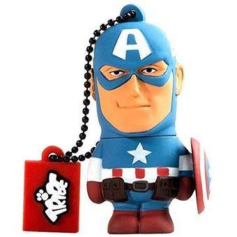 Clé USB Tribe Marvel Avengers Captain America 16 Go