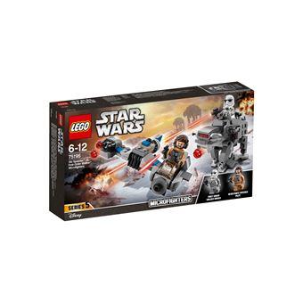LEGO® Star Wars™ 75195 Microfighter Ski Speeder™ vs. Quadripode du PremierOrdre™