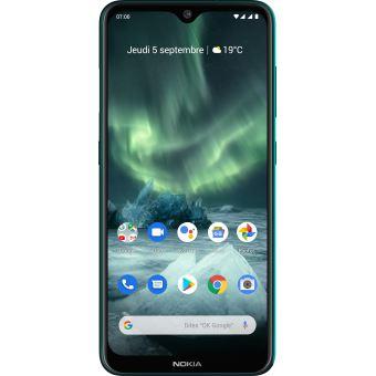"Nokia 7.2 128GB Dual Sim 6,3"" Cyan Green"