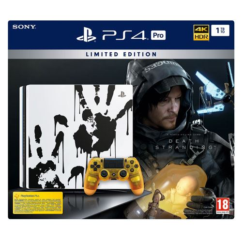 Console Sony PS4 Pro 1To Édition Limitée Death Stranding
