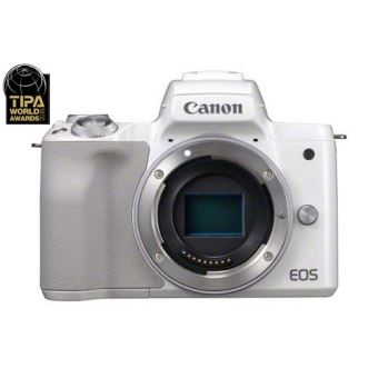 Hybride Canon EOS M50 Boîtier nu Blanc