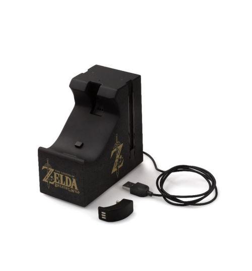 Station de recharge Nintendo Zelda pour 2 Joy Con et 1 Manette Nintendo Switch Pro