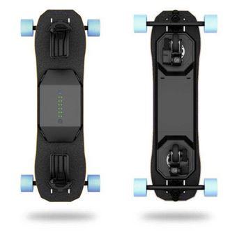 Skateboard électrique Leiftech Leifboard Noir avec batterie LT3X