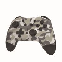 Manette sans fil Alpha Omega Players Bluetooth Camouflage pour Nintendo Switch