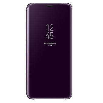 SAMSUNG S9+ CLEAR VIEW STANDING COVER PURPLE