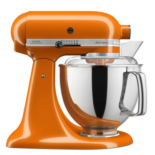 Robot pâtissier multifonction KitchenAid Artisan 5KSM175PSEHY 300 W 4,8L Orange