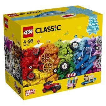 LEGO 10715 STENEN OP WIELEN-LA BOITE DE BRIQUES ET DE ROUES