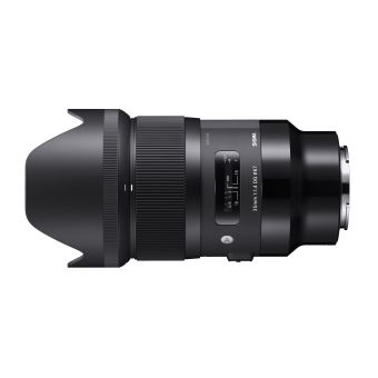 Objectif hybride Sigma 35 mm f/1.4 DG HSM Art Noir Monture Sony FE