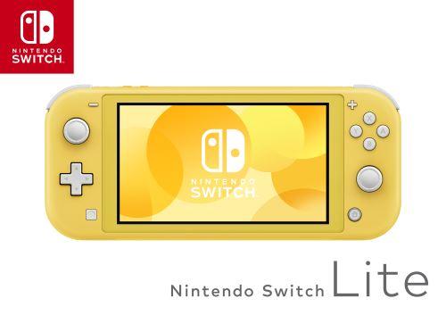 Photo de nintendo-switch-lite-jaune