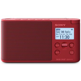 TOP radio - Sony XDRS41 Red DAB+