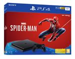 Console Sony PS4 Slim 1 To Noir + Marvel Spider-Man