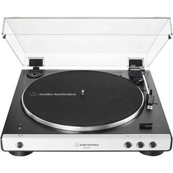 Platine vinyle Audio-Technica AT-LP60XBTWH Bluetooth Blanc