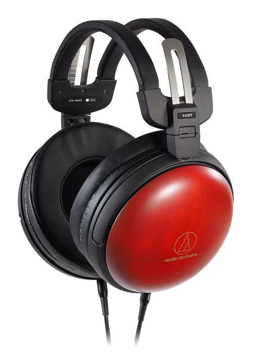 Casque d'écoute circum-aural Audio-Technica ATH-AWAS Rouge