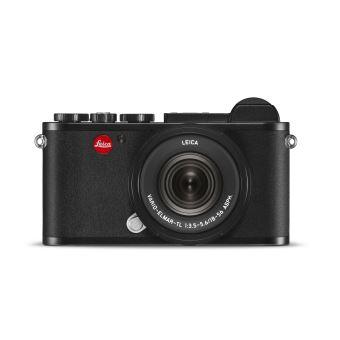 Hybride Leica CL Noir anodisé + Objectif Vario Elmar TL f/3.5-5.6 18-56 mm Asph. Noir anodisé