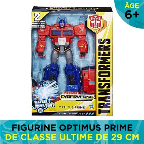 Figurine Transformers Cyberverse Optimus Prime