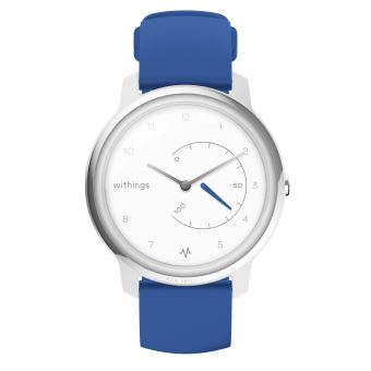 Montre Connectée Withings Move ECG Blanc et Bleu
