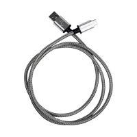 Fuse Chicken Titan Armour Lightning naar USB Kabel Grijs 1M