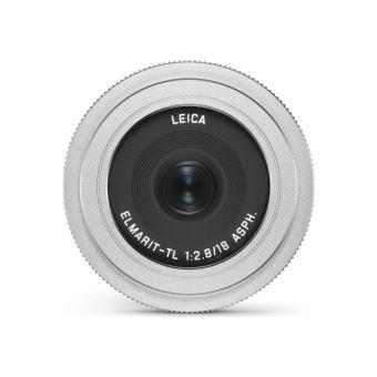 Leica Elmarit-TL 18 mm f/2.8 Hybride Lens Zilver