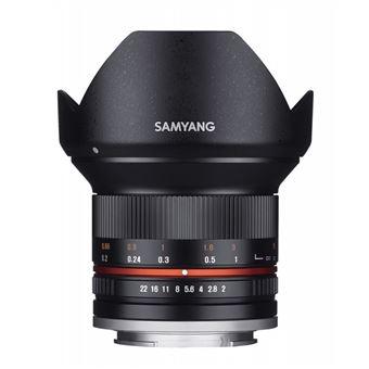 SAMYANG 12mm F2 NCS CS Sony E Noir GARANTI 2 ANS