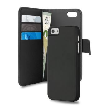 PURO WALLET IPHONE 5/5S/SE W/ CARDSLOT+BANKNOTE