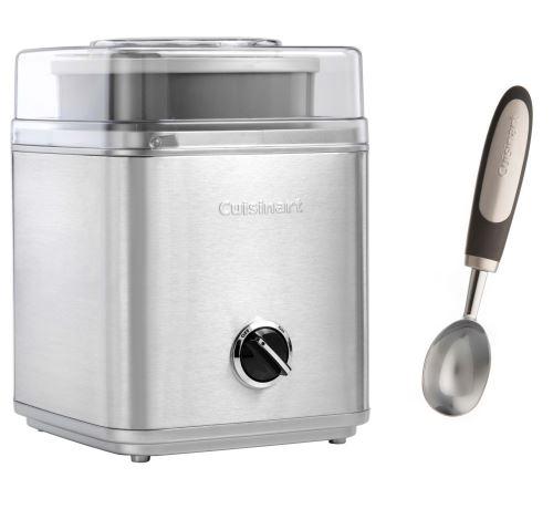 Sorbetière Cuisinart avec cuillère à glace 25 W Argent et Gris