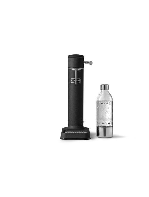 Machine à eau pétillante Aarke Carbonator 3 Noir avec une bouteille PET incluse