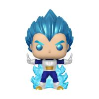 Figurine Funko Pop! Animation Dragon Ball Super Vegeta Powering Up Glow with Chase Exclusivité Fnac