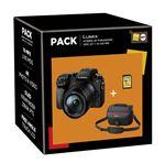 Pack Fnac Hybride Panasonic Lumix DMC-G7 + 14-140 mm ASPH + Carte Mémoire SDHC 8 Go + Fourre-tout