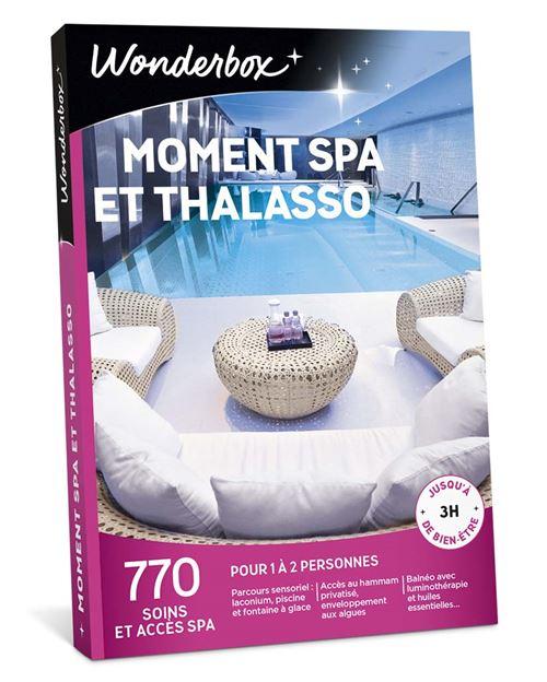 Coffret cadeau Wonderbox Moment Spa et Thalasso