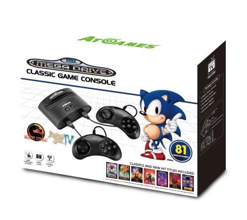 Bonne année!! - Page 4 Console-filaire-Sega-Mega-Drive-Claic-Game