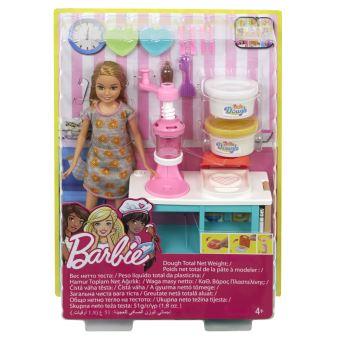 4 64 Sur Coffret Barbie Petit Dejeuner A Modeler Avec Stacie