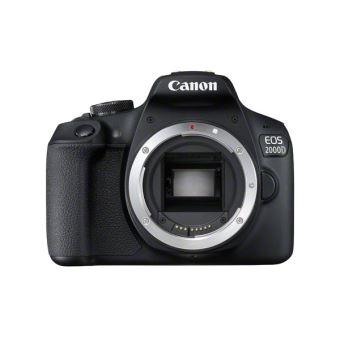 Reflex Canon EOS 2000D Boîtier nu Noir