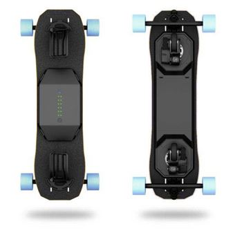 Skateboard électrique Leiftech Leifboard Noir avec batterie LT2X