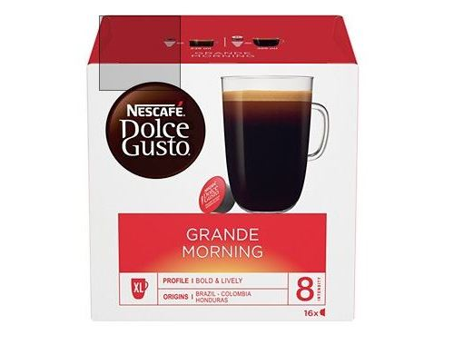 Dosettes exclusives Dolce Gusto Nescafe Grande Morning
