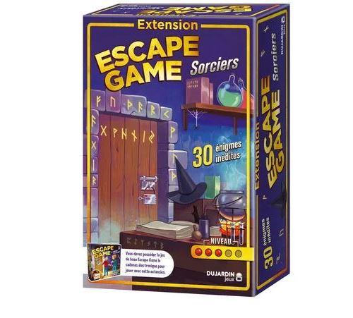Jeu de stratégie Dujardin Escape Game Extension Sorciers