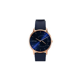 Montre Connectée Withings Timeless Chic Bleu et Or Rose