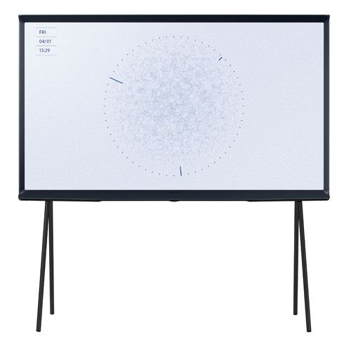 """Plus de détails TV Samsung The Serif 49LS01RB 49"""" QLED HDR 4K Ultra HD Bleu Nuit"""