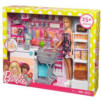 Playset Barbie Supermarché