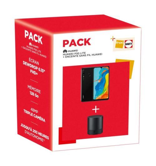 Pack Huawei P30 Lite 128 Go et enceinte Bluetooth