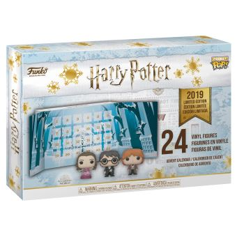 Calendrier de l'Avent Funko Pop Harry Potter Pocket 2019 24 pièces