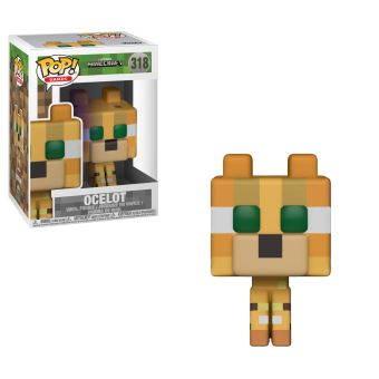MINECRAFT-BOBBLE HEAD POP N°318-OCELOT
