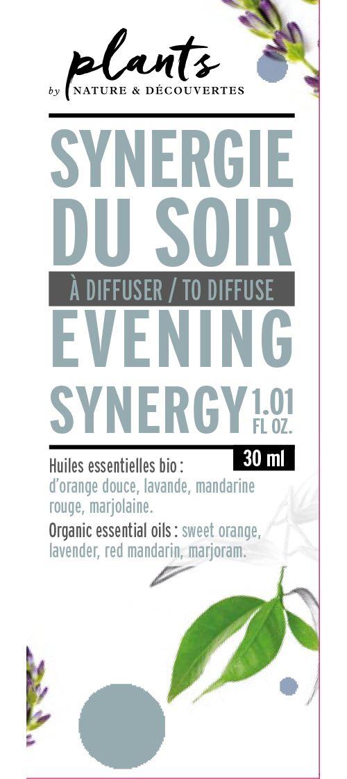 Synergie du soir Plants 30 ml