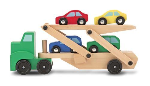 Camion dépliable porte 4 voitures Melissa et Doug