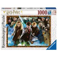 Puzzle 1000 pièces Ravensburger Harry Potter et les sorciers