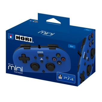 Mini Pad filaire PS4 Hori Bleu