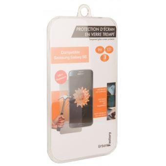 Protection d'écran Urban Factory verre trempé pour smartphone Samsung Gaaxy J7 2016